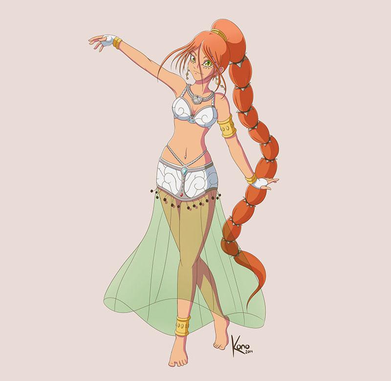 Character design de Zephyr