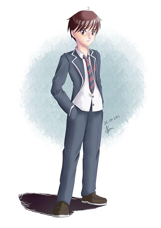 Character design de Nao
