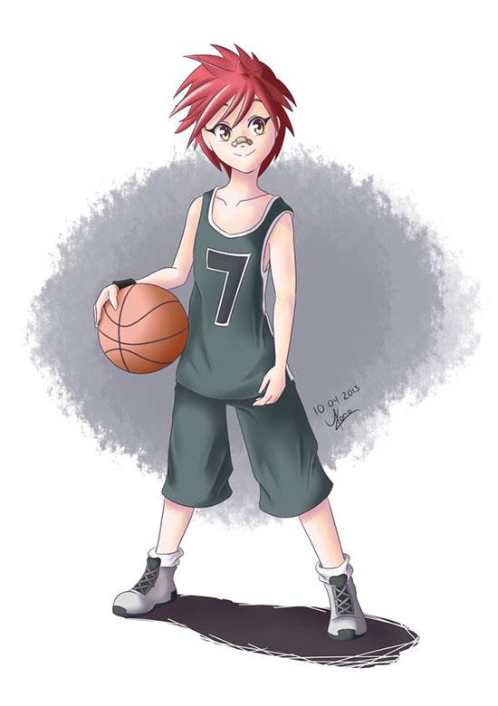 Character design de Rika