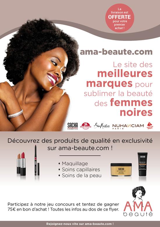 Recto flyer AMA Beauté