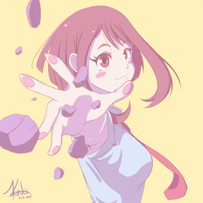 Illustration de Ochaco