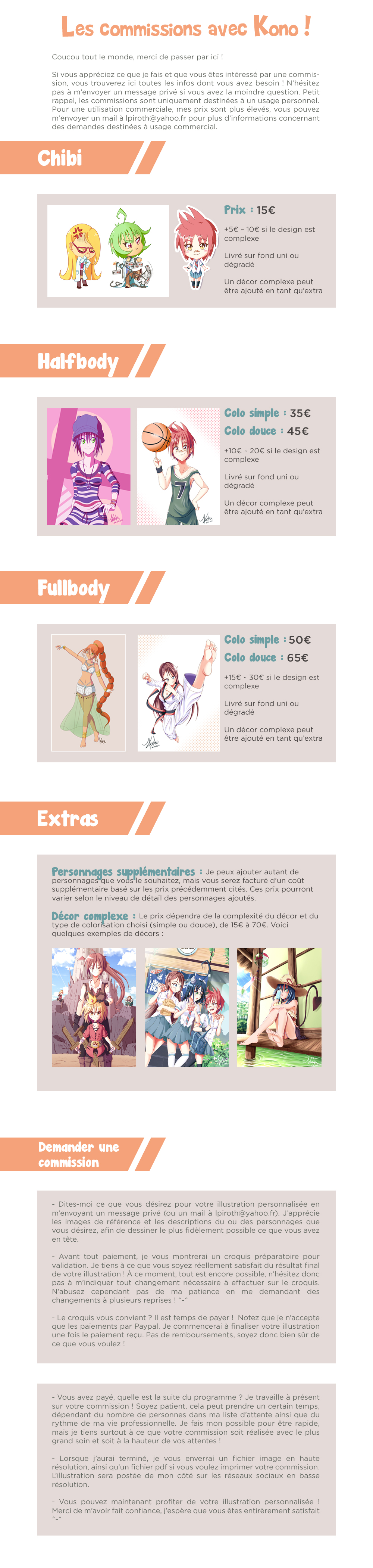 Infos commissions