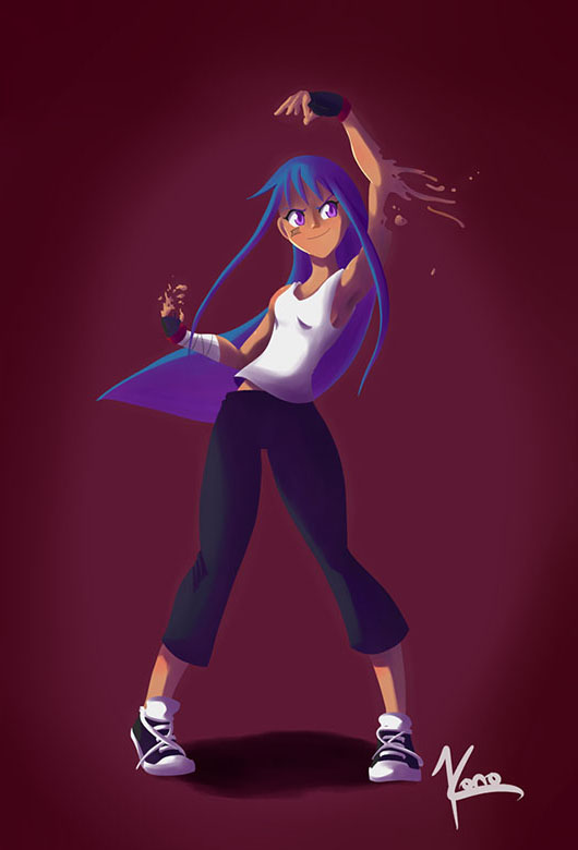 Character design de Nitrite