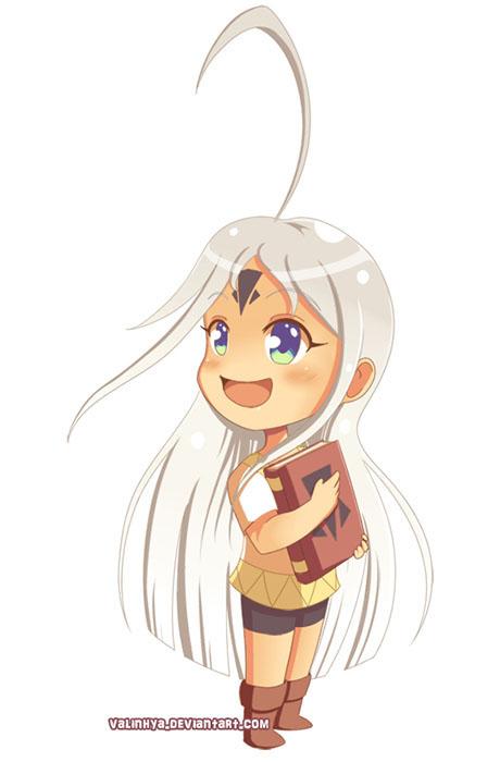 Character design de Chibi Shaka