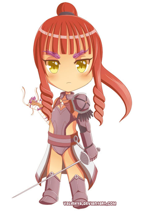 Character design de Chibi Sonate