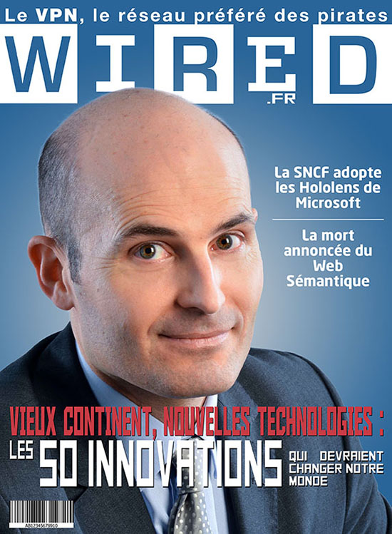 Infographie de Couverture Wired