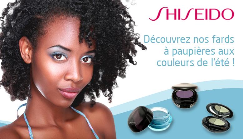 Bannière de publicité Shiseido