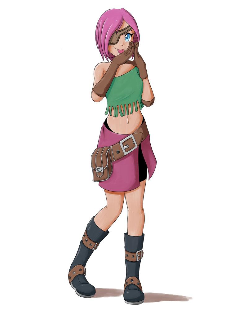 Character design de Kuru