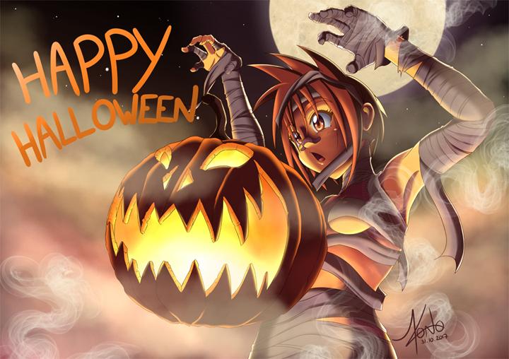 Illustration de Obey me Pumpkin
