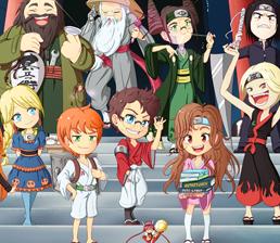 Hachi Powaa à l'école des Otaku